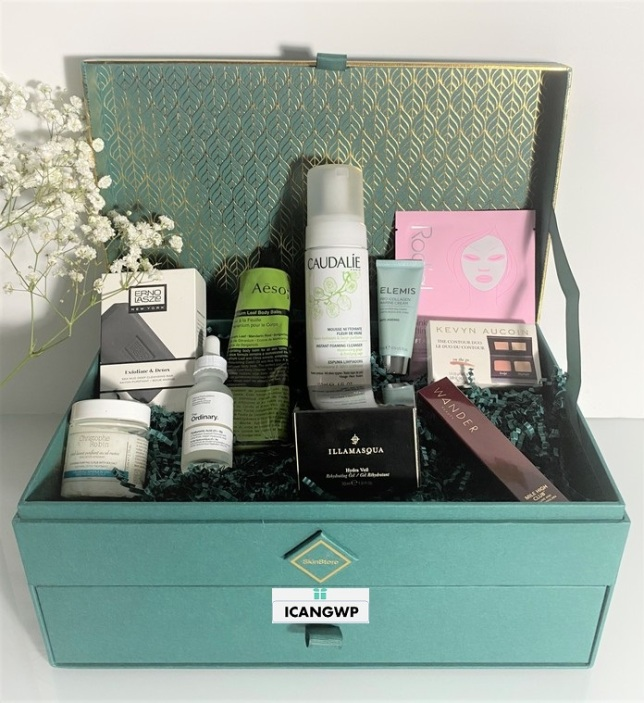 Skinstore Evergreen beauty box full spoilers by icangwp blog