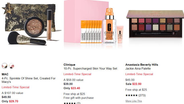Beauty 40 50 Off Beauty Flash Sale Macy s