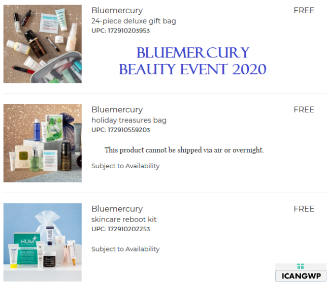 bluemercury beauty event gift bag icangwp beauty blog 2020 3