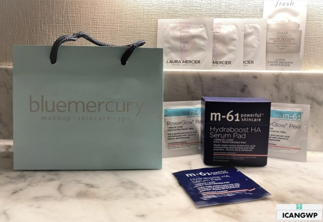 bluemercury birthday gift review icangwp beauty blog
