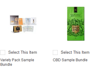 free samples Neiman Marcus.