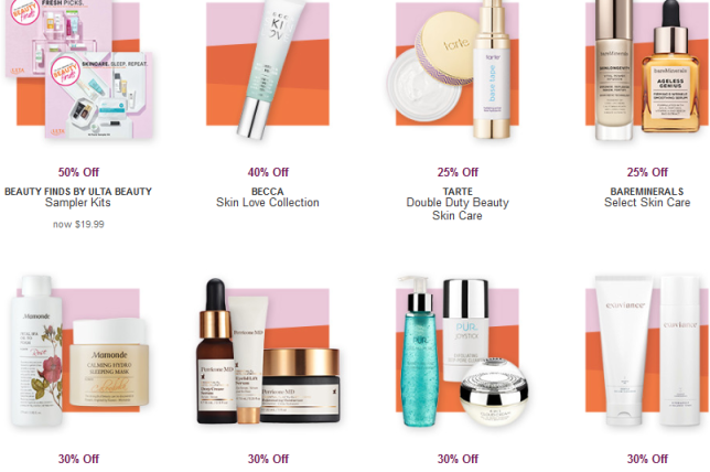Hot Buys Love Your Skin Event Ulta Beauty