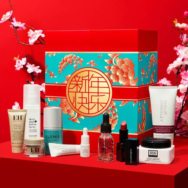 lookfantastic chinese new year beauty box 2020