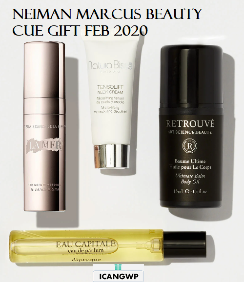 Neiman Marcus beauty cue february 2020 icangwp beauty blog
