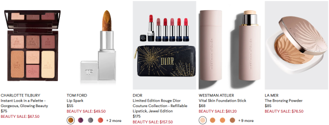 One Day Only Beauty Event at Bergdorf Goodman
