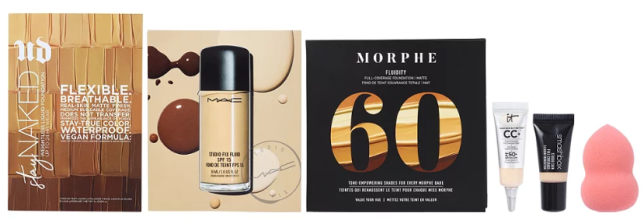 Online Only FREE 6 Piece Foundation Sampler with any 25 online makeup purchase Ulta Beauty