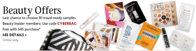 Sephora Coupons cyberbag Promo Codes Coupon Codes Sephora