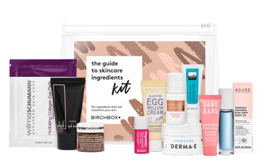 The Guide to Skincare Ingredients Kit