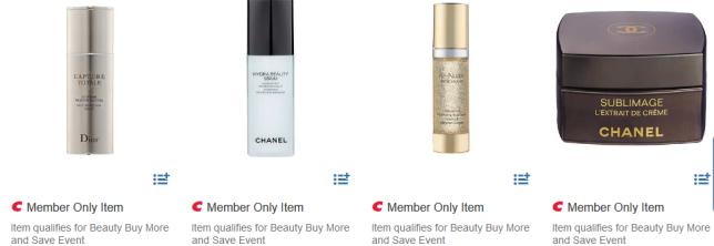 beautyfeb20 Chanel Dior Estee Lauder Costco