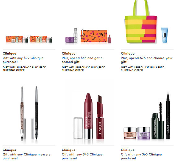 Clinique Gift With Purchase – Beauty Makeup Perfume Bloomingdale s