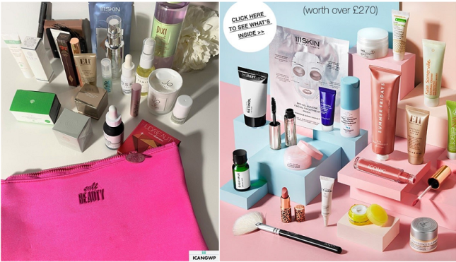 cult beauty goody bag 2020 by icangwp blog
