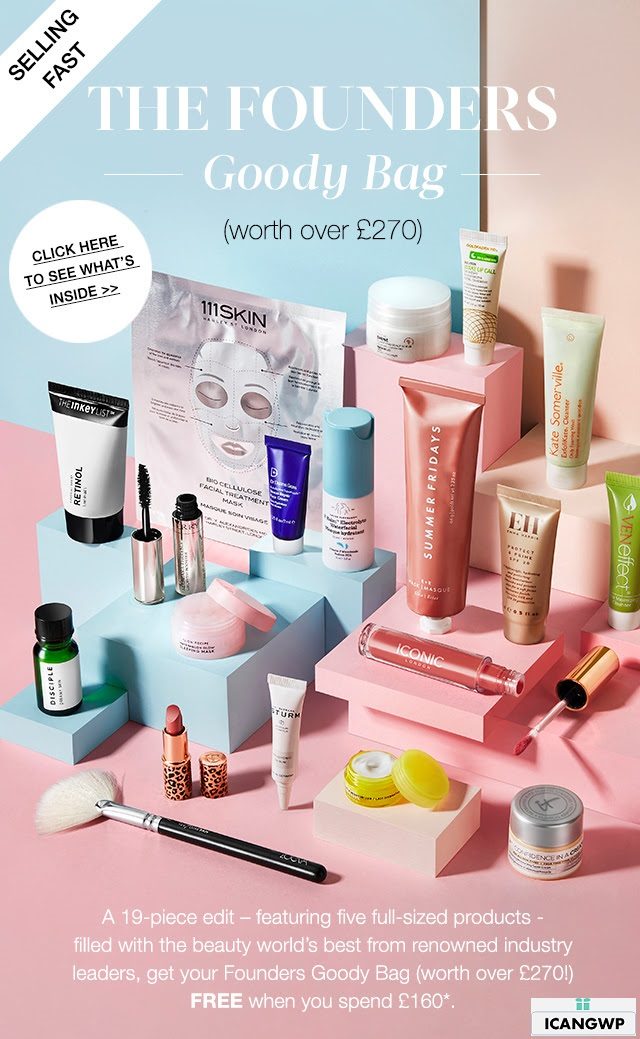 cult beauty goody bag 2020 icangwp beauty blog feb 2020