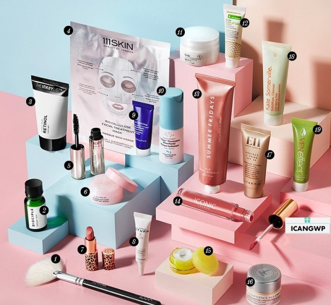 Cult Beauty goody bag 2020 icangwp blog feb 2020 (2)