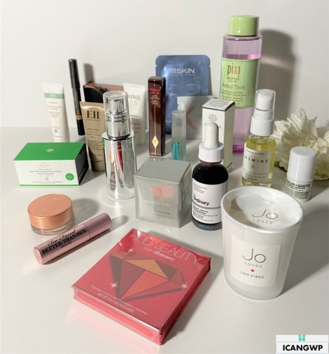 cult beauty goody bag icangwp blog