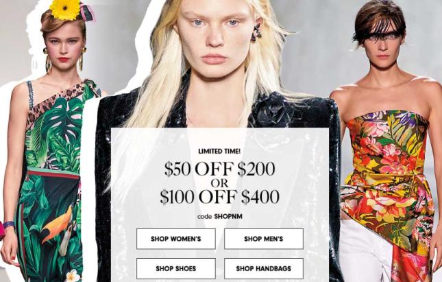 Designer Clothing Shoes Handbags Beauty Neiman Marcus shopnm