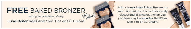 Free Bronzer with Purchase bluemercury