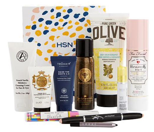 HSN Spring Beauty Sample Box 9335709 HSN