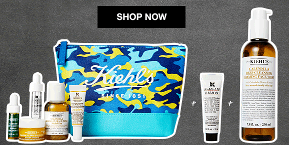 kiehls All Fixed FREE 8 Piece Gift Starts Now