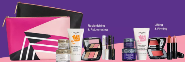 Lancôme Choose Your FREE 7 pc gift with any 37.50 Lancôme Purchase. Gift worth up to 136 icangwpMacy s