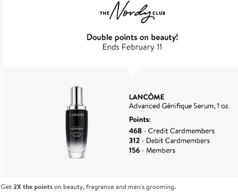 Nordstrom double points 2020 icangwp blog
