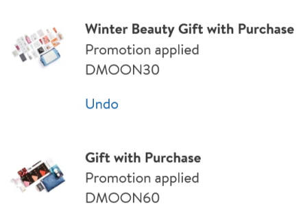 Nordstrom gift with purchase feb 2020 2 sample bags