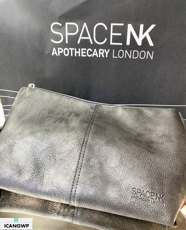 space nk spring beauty edit review icangwp blog cosmetic bag