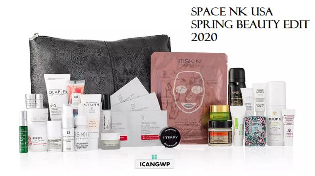 SpaceNK spring beauty edit 2020 icangwp