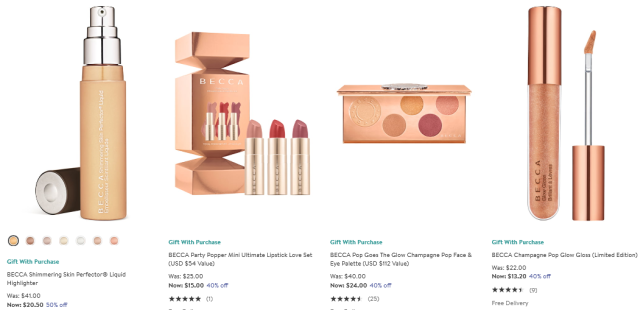 BECCA Cosmetics Beauty Fragrance Sale Nordstrom