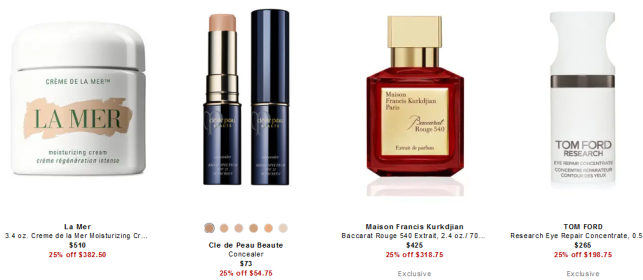 Designer Fragrance Beauty Products at Neiman Marcus
