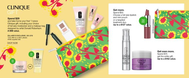 dillards clinique gwp march 2020 icangwp 2