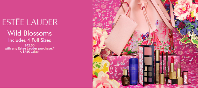 estee lauder wild blossoms pwp 2020 icangwp blog
