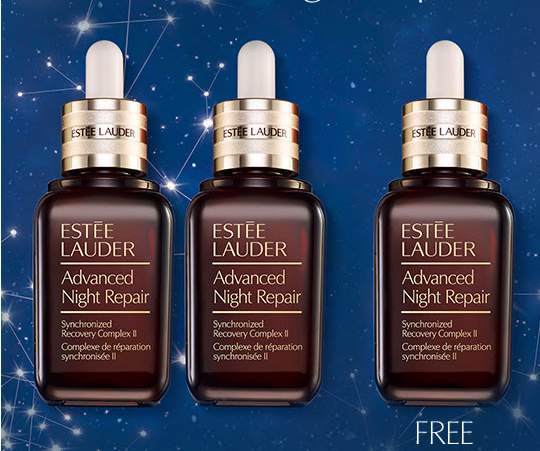 Free Full Size Advanced Night Repair Serum with your purchase