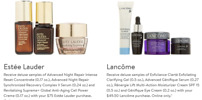 Gift with Purchase Nordstrom deluxe mar 2020 icangwp