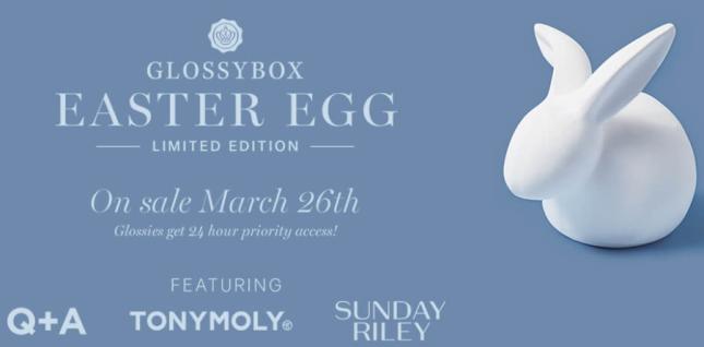 glossybox Easter Egg 2020 us icangwp blog