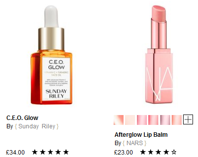 Glow Edit Cult Beauty sale