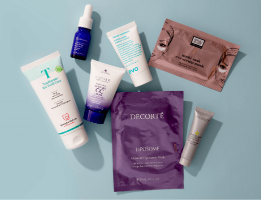 lookfantastic 9pc gift bag march 2020 icangwp