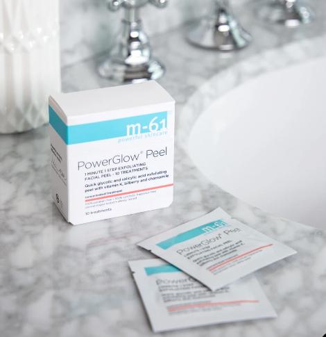 M 61 PowerGlow® Peel Exfoliating Facial Peel bluemercury