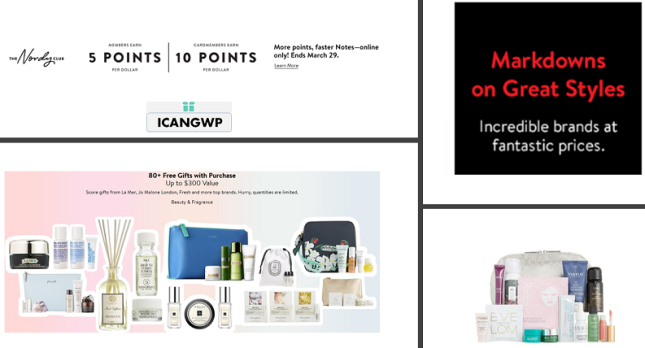 nordstrom gift with purchase space nk icangwp march 2020