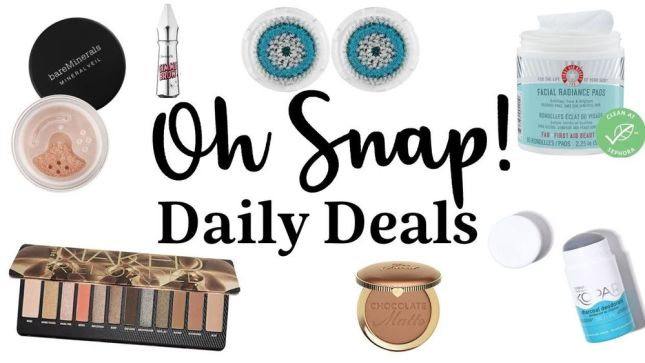 sephora oh snap deals 2020 icangwp