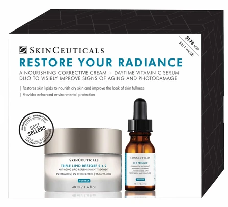 SkinCeuticals Radiance Restoring Kit bluemercury march 2020 icangwp