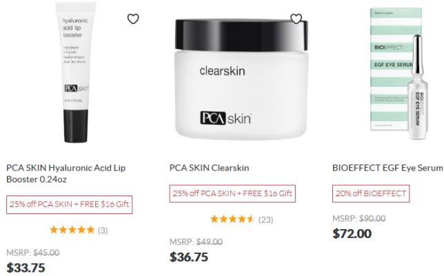 SkinStore Sale icangwp anniversary sale march 2020