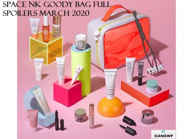 space nk goody bag uk march 2020 full spoilers icangwp beauty blog