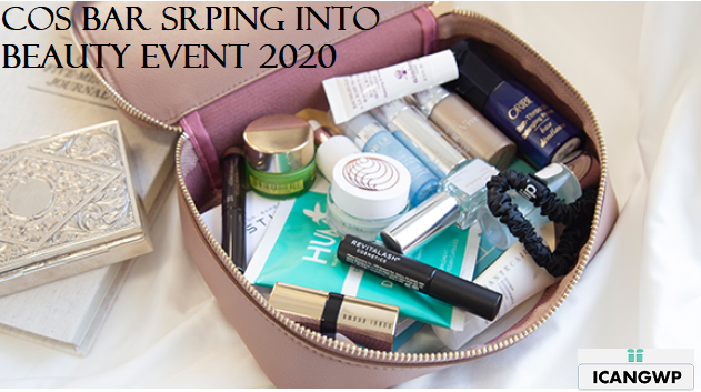 Spring Into Beauty gift 2020 Cos Bar icangwp blog march 2020 2