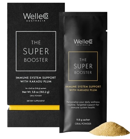 WelleCo SUPER BOOSTER Immune System Support with Kakadu Plum bluemercury