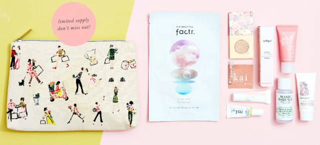 anthropologie free Gift with purchase icangwp april 2020