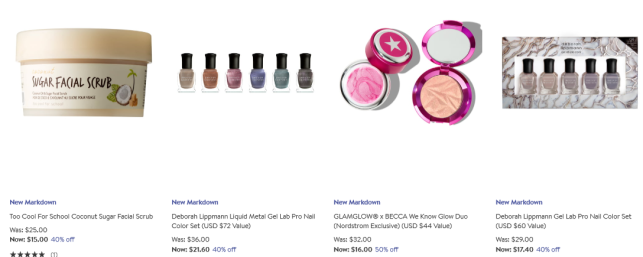 Beauty Fragrance Sale Nordstrom nail skincare sale icangwp