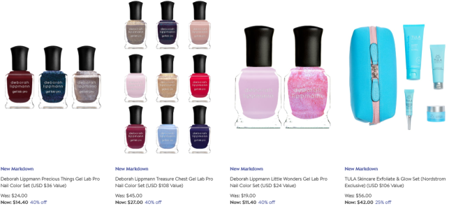 Beauty Fragrance Sale Nordstrom nail skincare sale