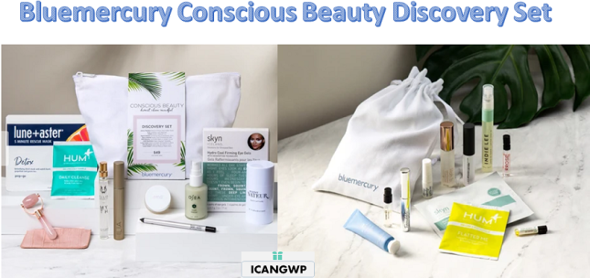 Bluemercury Conscious Beauty Discovery Set icangwp blog