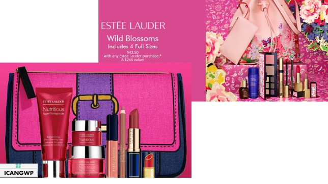 estee lauder Gift with Purchase icangwp blog
