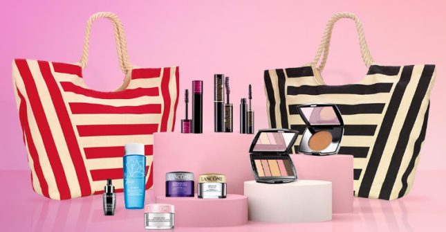 Lancome 10pc gift with purchase april 2020 icangwp